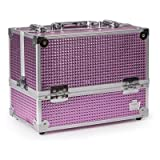 Caboodles Stylist 6-Tray Train Case Pink Bubble Pink Bubble