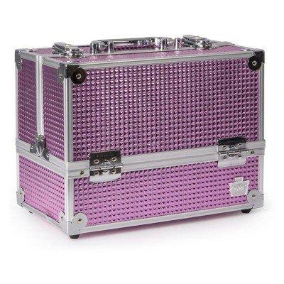 Caboodles Stylist 6-Tray Train Case Pink Bubble Pink Bubble