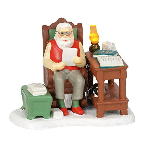 Department 56 Original Snow Village Santa Comes To Town 2018 Village Figures (Snow 56 Original)