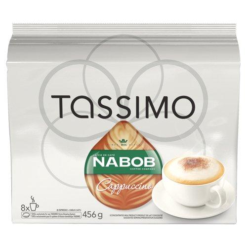 Nabob Tassimo Cappuccino 16 T-Discs(8 Servings), 8-Count