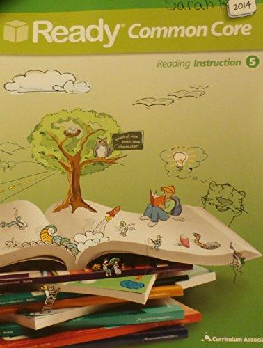 Ready Common Core 2014, Reading Instruction 5