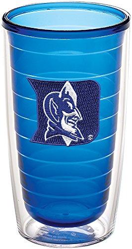 Tervis 1197287 Duke University Emblem Individual Tumbler, 16 oz, Sapphire