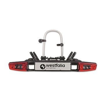 1fcf4bac0e0995 Westfalia bikelander Fahrradträger für Anhängerkupplung –  Zusammenklappbarer Kupplungsträger für 2 Fahrräder – E-Bike geeigneter