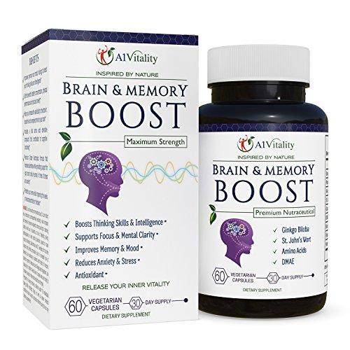 Brain Enhancer Health Supplements - Vita