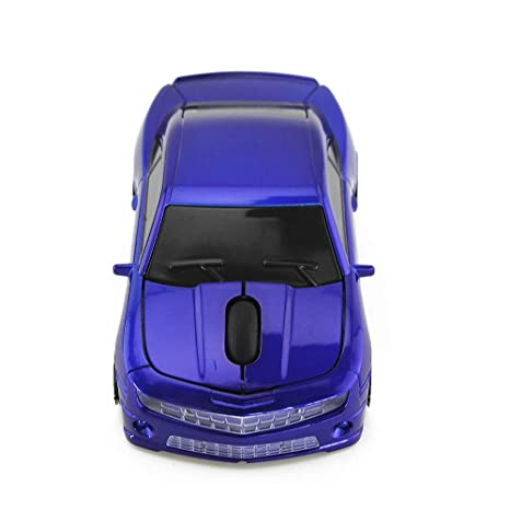 Amazon.com: ECOiNVA Chevrolet Camaro Wireless Sports Car Mouse Desktop Laptop Computer Optical Mouse Mice AAA Battery Nano USB 2.4GHz (Blue): Computers & ...