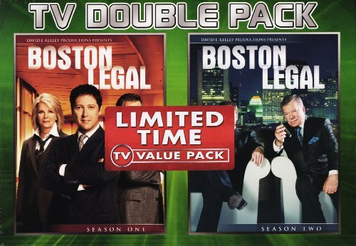 Click for larger image of Boston Legal - Seasons 1 & 2 (Double Pack)