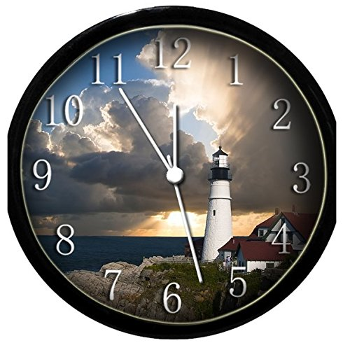Glow in the Dark Wall Clock - Lighthouse #3