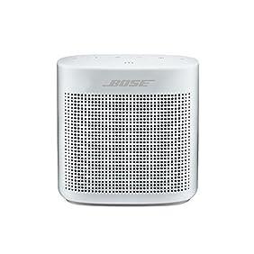 Bose SoundLink Color Bluetooth Speaker II - Polar White & Reversible Case - Bundle