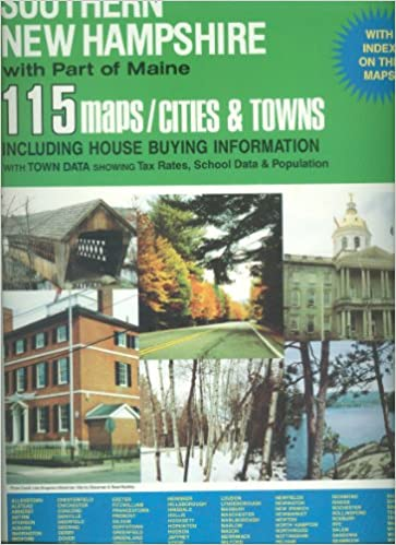 Maine Map Cities And Towns.Universal Atlas Of Southern New Hampshire With Part Of Maine 115
