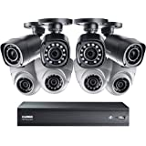 Lorex by FLIR LHV00161T 16-Channel HD DVR with 1TB HDD, 4x LBV1511 Bullet and 4x LEV1522B Dome Camera