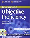 Objective Proficiency Workbook with Answers with Audio CD, Peter Sunderland and Erica Whettem, 1107619203