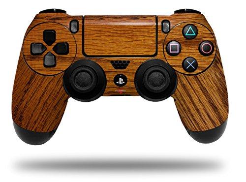 Vinyl Skin Wrap for Sony PS4 Dualshock Controller Wood Grain - Oak 01 (CONTROLLER NOT INCLUDED) (Ps4 Wood Grain Skins)