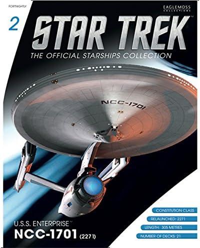 Collection de vaisseaux spatiaux Star Trek Starships Collection Nº 2 USS Enterprise NCC 1701 (2271)