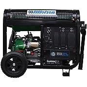 Tillotson 4500w Portable Generator Dual Fuel with Wheel Kit