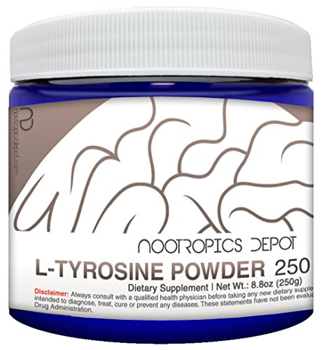 L-Tyrosine Powder | 125 Grams | Amino Acid Supplement | Supports Healthy Stress Levels | Boosts Energy | Promotes Mental Alertness, Focus and Clarity For Sale