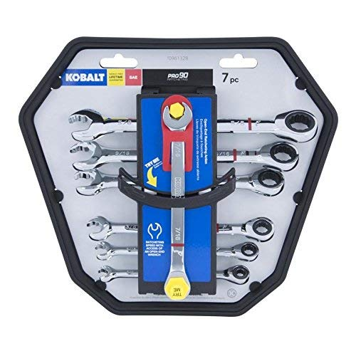 4 Piece Sae Offset Ratcheting - Kobalt 7-Piece Standard Ratchet Wrench Set (SAE)