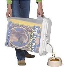 "Buddeez 32Qt ""Bag-In"" Pet Food Dispenser -Holds Up To 22Lbs"