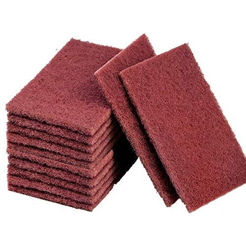 Amacoam Schuurspons nylon carborundum schuurdoek krasvrij poetsdoek duurzaam heavy duty scrubpad multifunctionele…