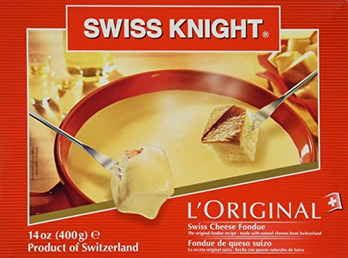 Swiss Knight Fondue - L'Original From Switzerland, 14 Oz. (Gruyere Swiss Cheese)