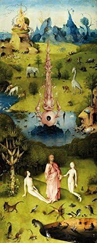 1art1 El Bosco - El Jardín De Las Delicias, 1500, 1 Parte Póster Fotomural (250 x 100cm): Amazon.es: Hogar