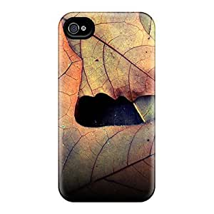High Quality Autumn Leafs Case For Iphone 4/4s / Perfect Case