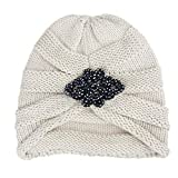 kemilove Winter Berets for Womens Wool Beanies Knitted Cashmere Hats