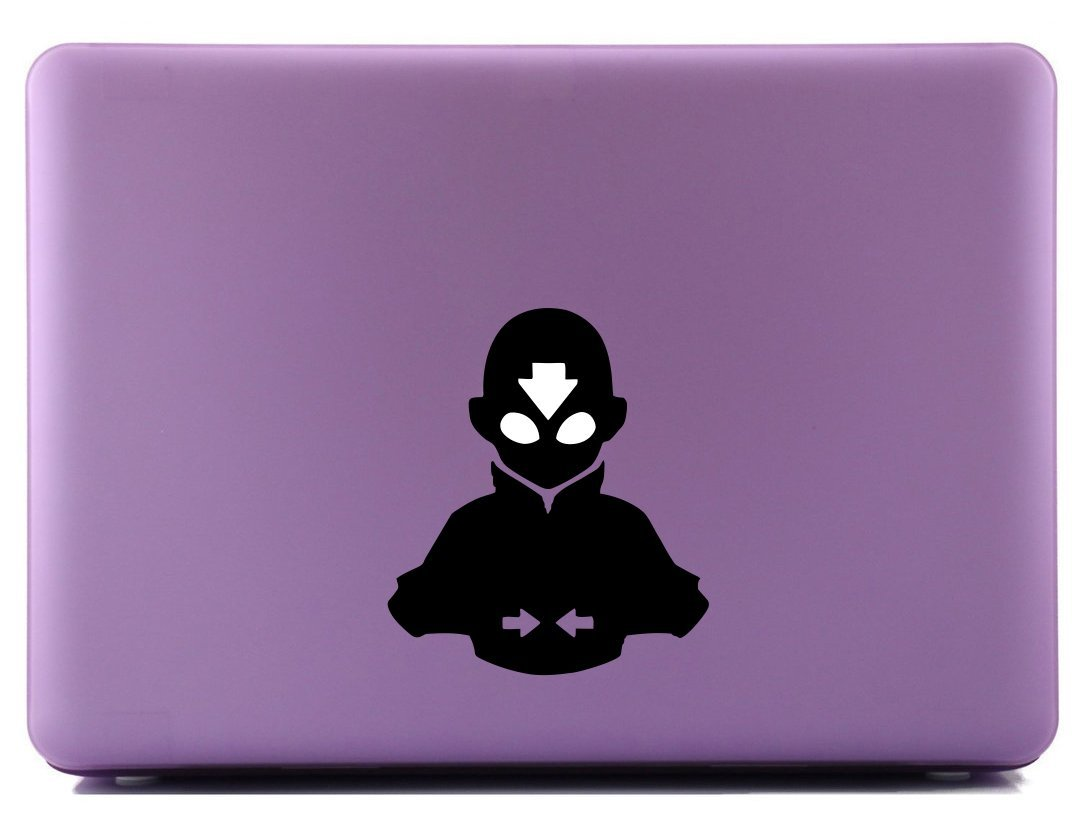Amazon com the last airbender aangs avatar state2 decorative laptop skin decal computers accessories