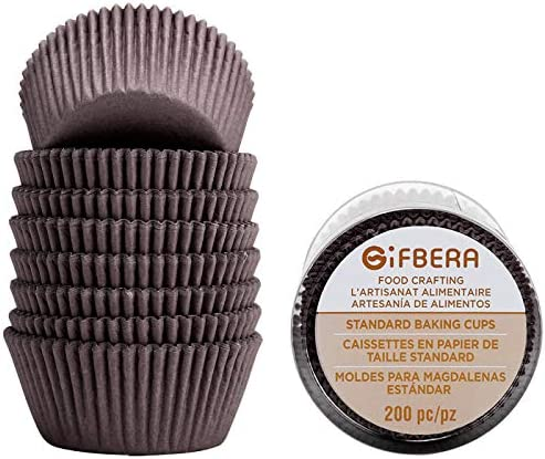 Gifbera Swedish Standard Cupcake 200 Count