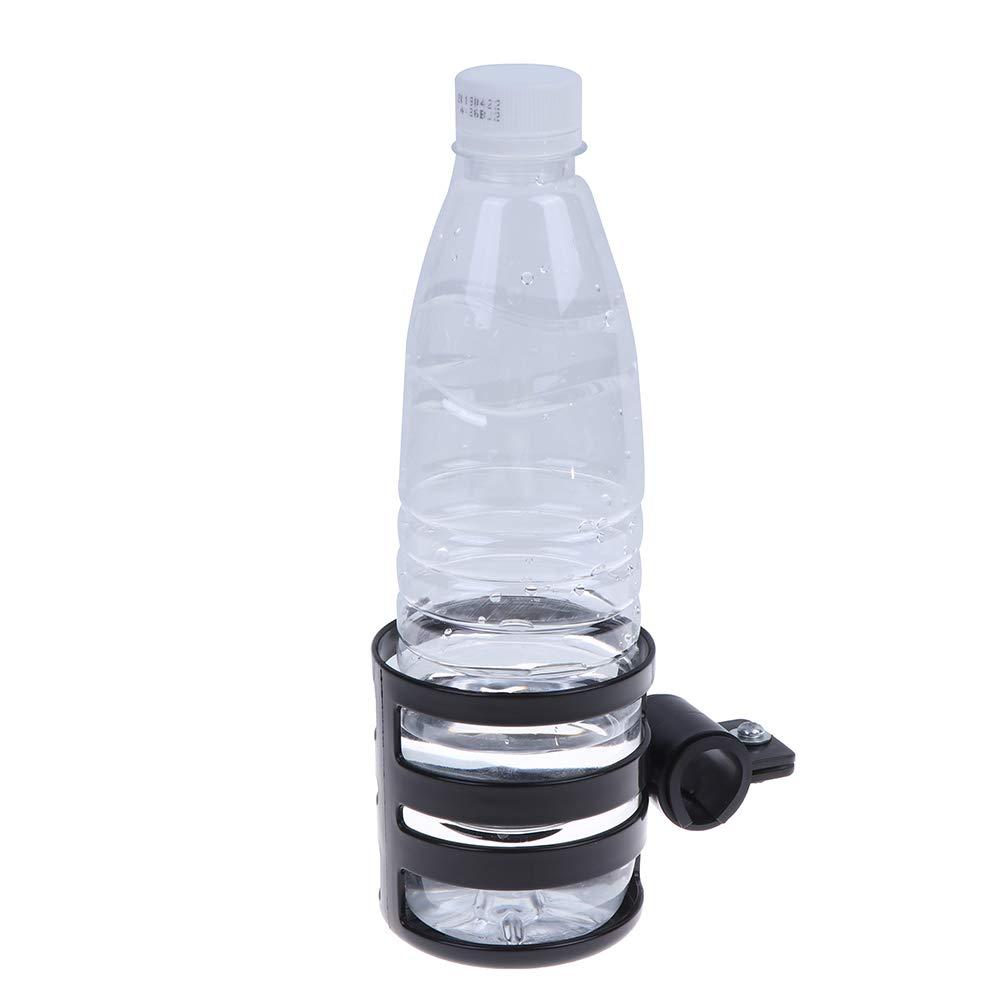 1 Pc Plastic Baby Stroller Cup Holder Pram Cup Holder Adjustable Bottle Organizer for Stroller Pushchair//Stroller Cup Holder Black