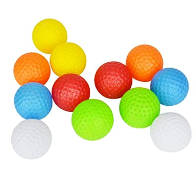 "Popular Christmas Gift Toy Kid's Golf Balls Accessories Kits Sets for Toddler 1 1/2"" Inch 10 Pack 5 Colors Randomly: Toys & Games"