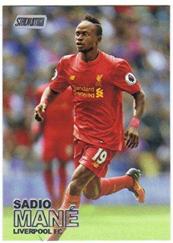 Stadium Club Football (Soccer Pro 2016-17 Topps Stadium Club Premier League #99 Sadio Mane)