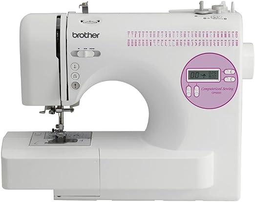 Brother CP-6500 Eléctrico - Máquina de coser (Blanco, Costura, 1 ...