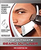 Facial Styles For Round Faces - Beard Outliner Kit / 2 Beard Styles/ ROUND AND SQUARE set All-In-One Tool | The Beard Care & Grooming Gift Kit For Any Beard Bro | Use With A Beard Trimmer Or Razor To Style