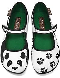 ccdae5ebe1de Chocolaticas Panda Women s Mary Jane Flat · Hot Chocolate Design