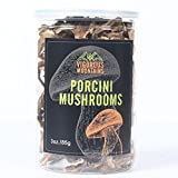 Vigorous Mountains Dried Porcini Mushrooms Boletus Edulis 3 Ounce