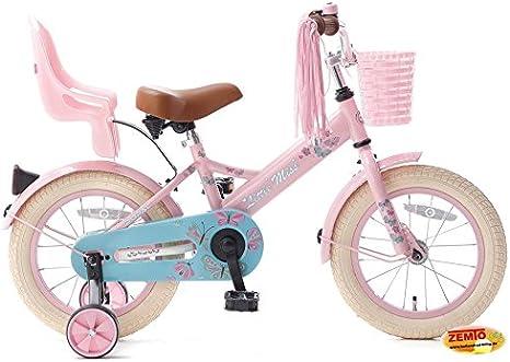 Bicicleta holandesa para niña 14 pulgadas Little Miss Color Rosa ...