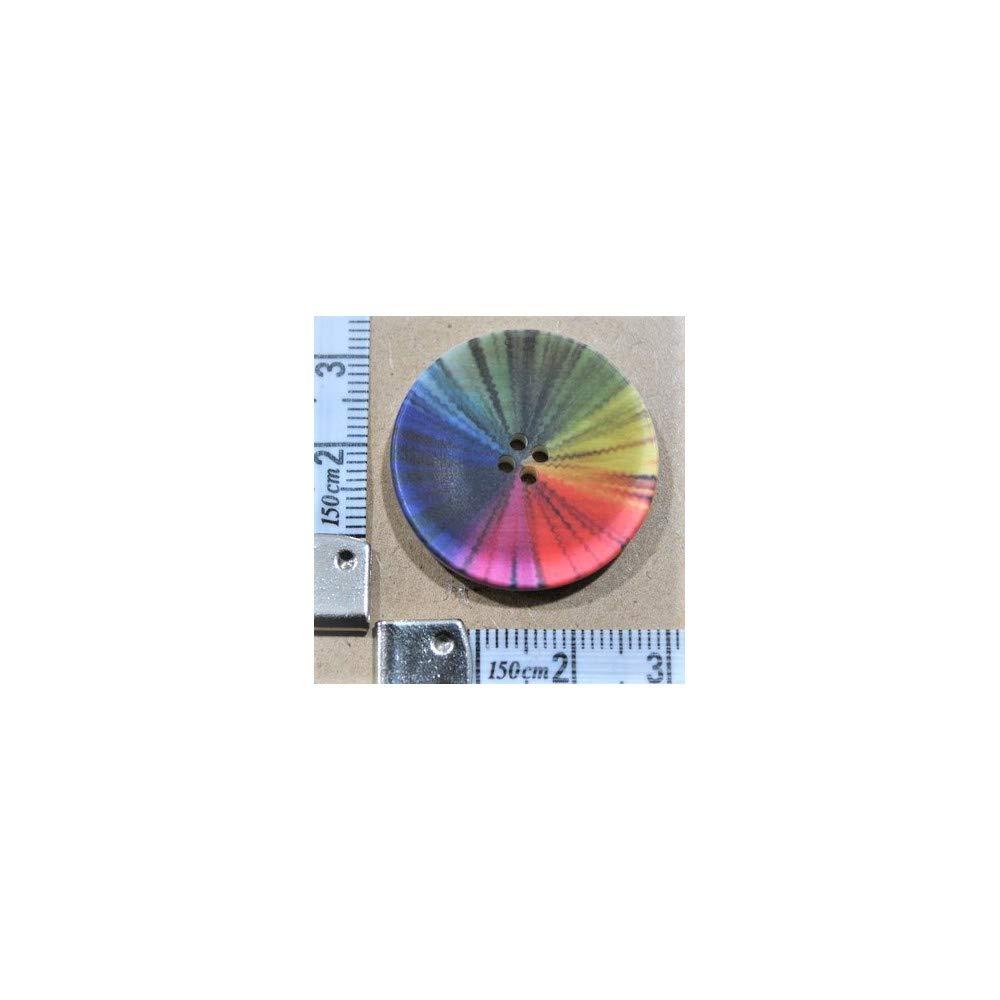 tomaselli congelador Botones Coco Poliéster Arco Iris MIS 44 ...