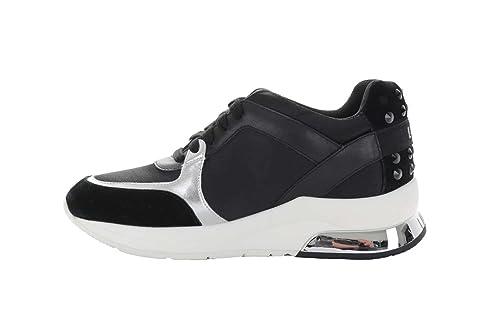 Liu Jo Jeans - Zapatillas Para Deportes de Exterior Para Mujer Negro Size: 41 EU: Amazon.es: Zapatos y complementos