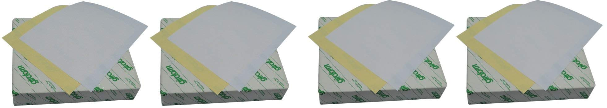Global Lab Supply 102-8511-1 Pre-Collated Giroform Hitec 2 Part Carbonless Paper, 8-1/2'' Length x 11'' Width (4-Pack)