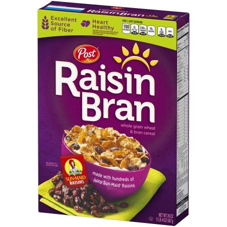 Whole Grain Wheat & Bran Cereal (Pack of 20)
