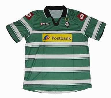 Lotto - Camiseta del equipo Borussia Mönchengladbach para hombre (año 12/13) verde