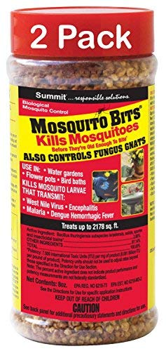 Summit 116-12 Quick Kill Mosquito Bits, 8-Ounce (2 Bottles) by Summit...responsible solutions