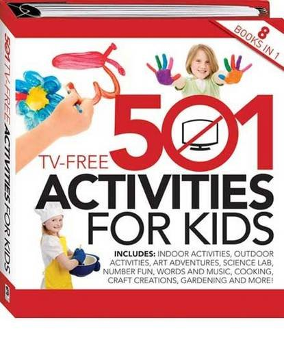 501 Tv Free Activities For Kids: Di Hodges: 9781741852721: Amazon ...
