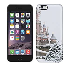 Best Power(Tm) HD Colorful Painted Watercolor Snow And Castle Hard Phone Case For Iphone 6 Plus