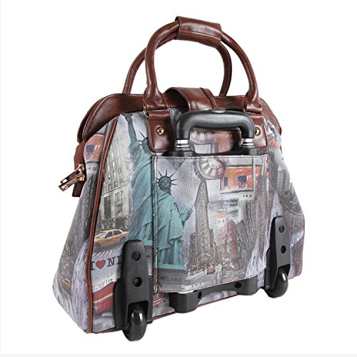 Nicole Lee Rolling Business Tote, New York, One Size by Nicole Lee (Image #6)