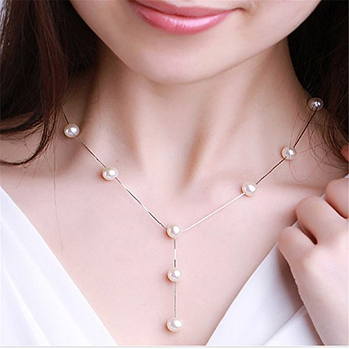 Faux Pearl Necklace Bracelet (Mmrm Women Faux Pearl Necklace Earring Bracelet Jewelry Set (Gold))