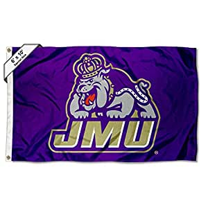 College Flags and Banners Co. James Madison Dukes 6x10 Feet Flag