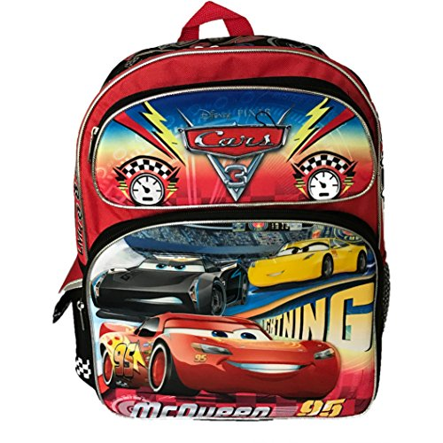 (Ruz Disney CARS Big Race Backpack - Not Machine Specific)