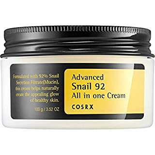 COSRX Advanced Snail 92 All in one Cream, 100g / 3.53 oz | Snail Secretion Filtrate 92% for Moisturizing