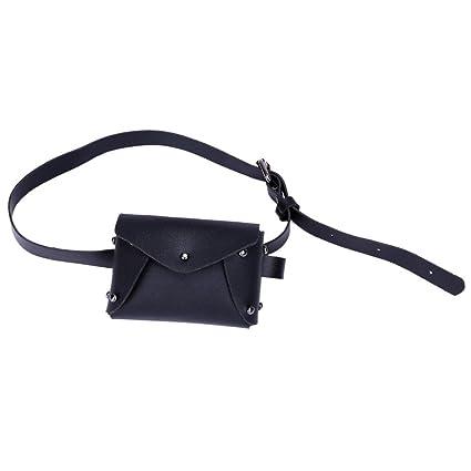 cf39b0033a2 Amazon.com : SHL Women Fashion Mini Waist Pack Bags Leather ...